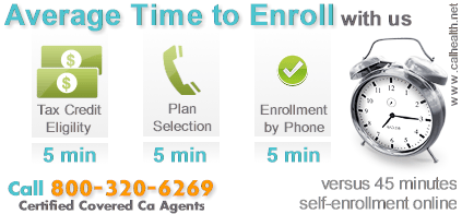 Faster time to enroll in Covered California