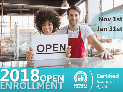 Your Guide to the 2018 Covered California Open Enrollment