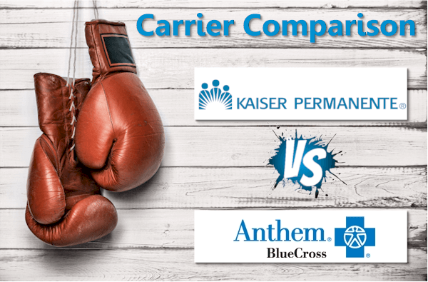 The Anthem versus Kaiser California Comparison