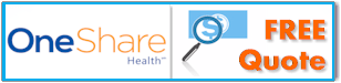 Quote OneShare health sharing ministry plans